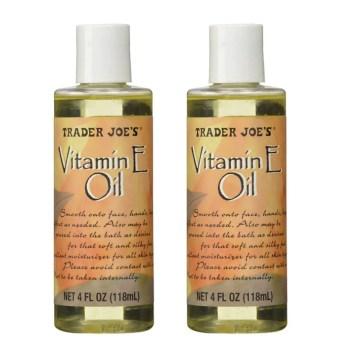 Vitamin e oil for beard