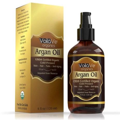 argan oil for beard growth