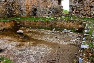 Anemurion - öffentliches Bad mit Mosaik gefließt