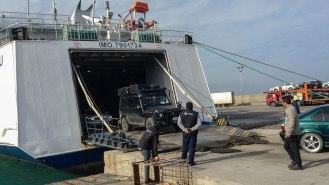Ankunft in Zypern