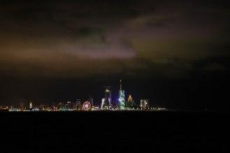 Batumi bei Nacht