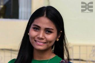 hübsche Burmesin