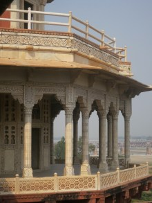 Balcony at the Fort