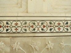 Inlay detail at the Taj Mahal