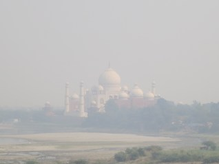 Taj Mahal from the Fort