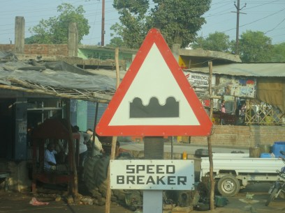 These really were serious speed breakers, as deep as they look