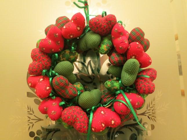 American Christmas wreath