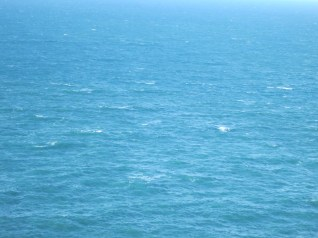Sea off St Agnes Beacon