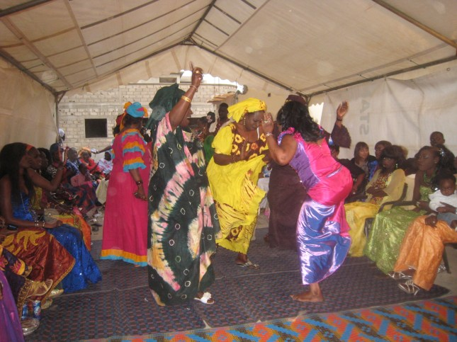 Dancing at our son's wedding