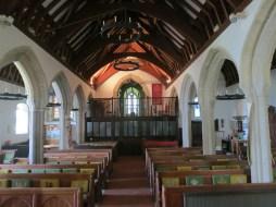 Inside Mawnan Church