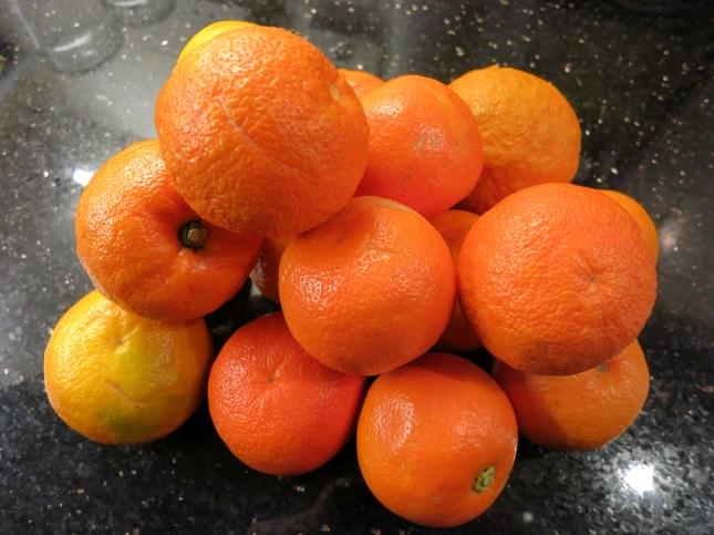 Seville oranges for marmalade
