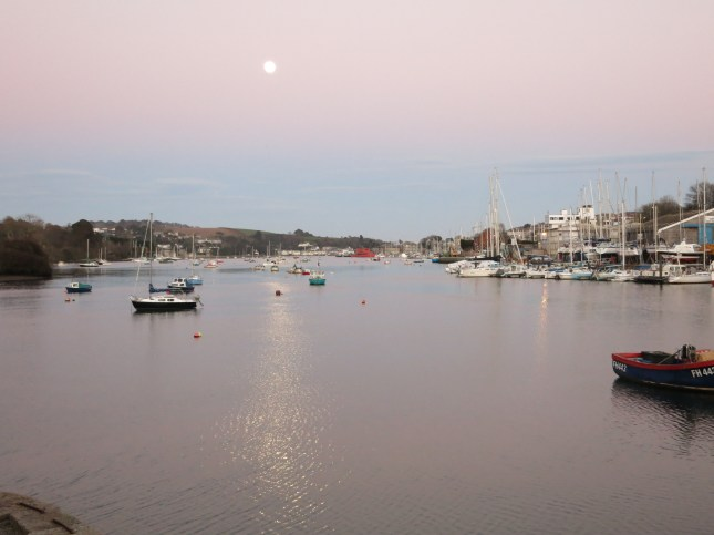 Moon over The Penryn River