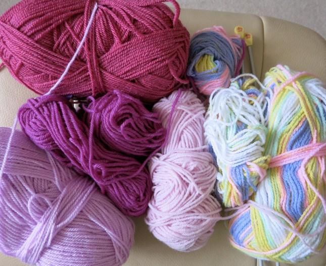 My pink wools