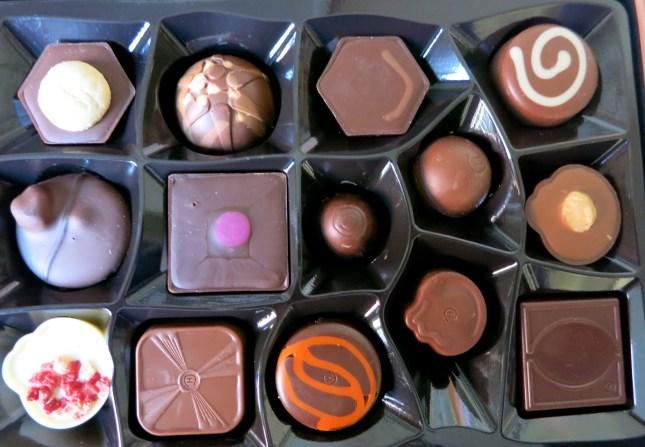 Very special chocolates