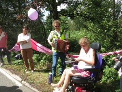 Making music along the route