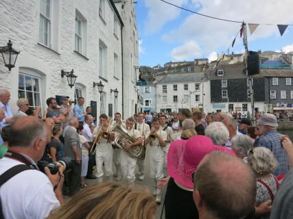 The 100 band at Mevagissey