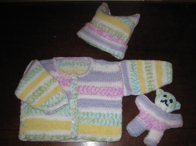 Oct 2008 Knitting for first Grandbaby