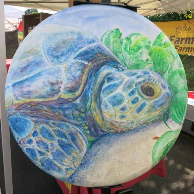 Turtle by my artist sister, Daisy Priya Lucas
