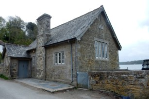 Durgan Village School, now a home. Just imagine the view!