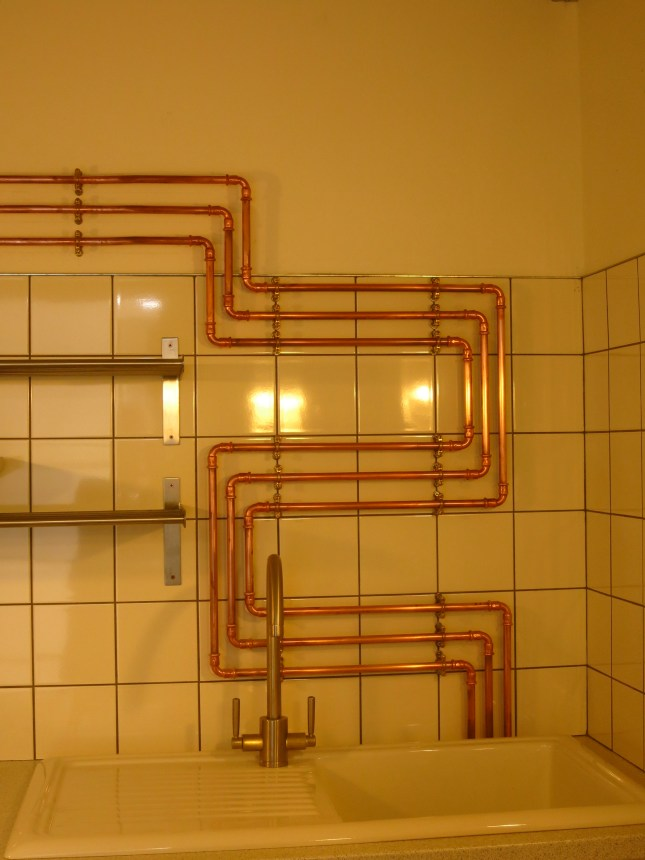 I just love this pipe work! Perfects for an Arts Building.