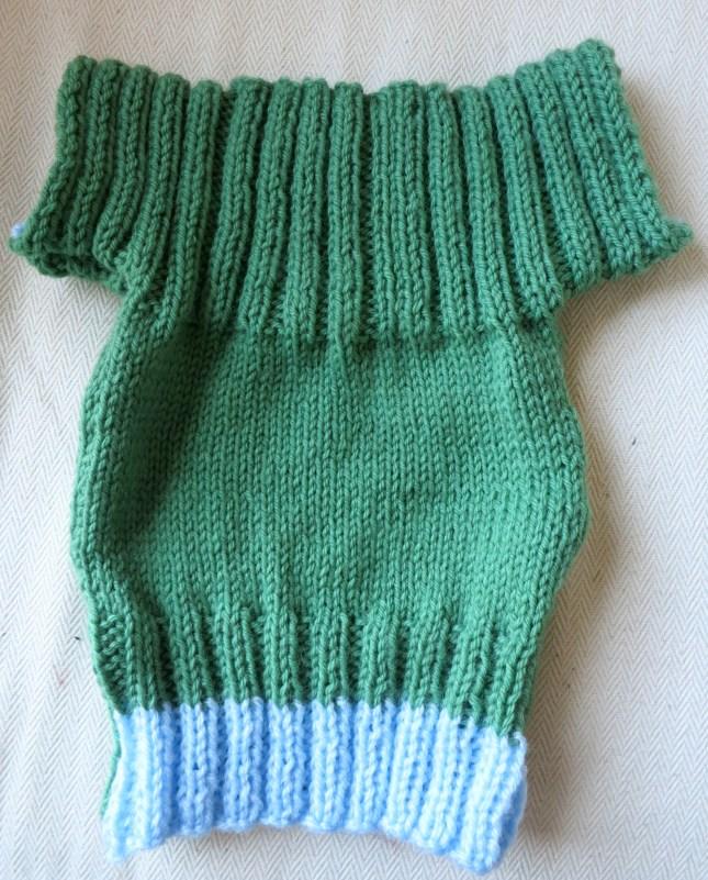 Jen's beautiful little sweater