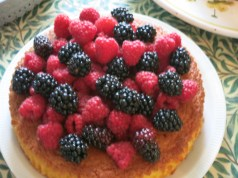Piled high with fruit