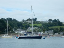 In The Helford River