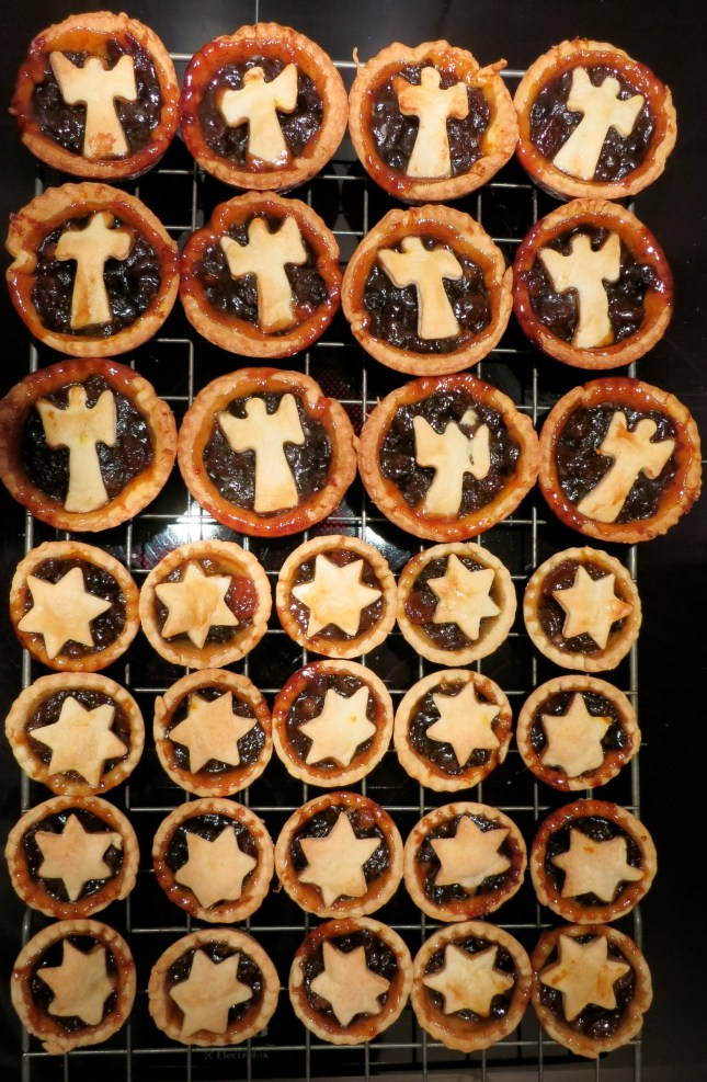 Some of today's Mince pies