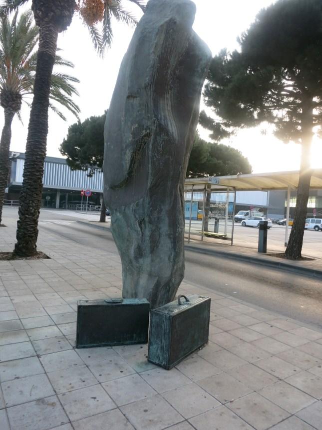 Sculpture at Terminal 4