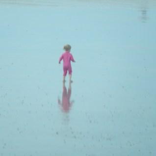 Reflection of a paddler