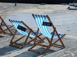 Reserved deck chairs