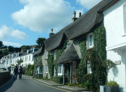 Thatched cottage in St Mawes
