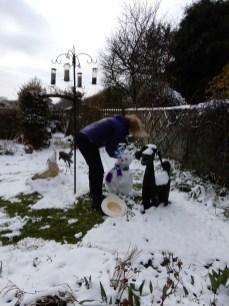 Building my Snow Woman
