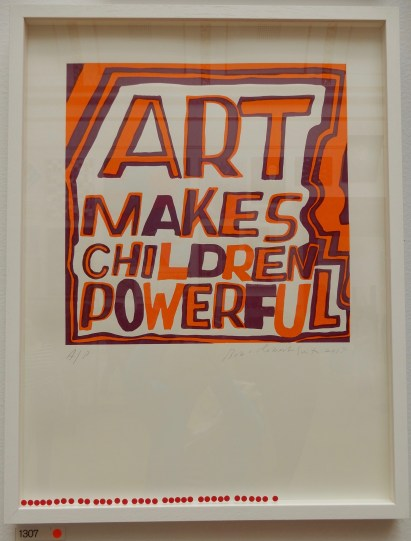 By Bob and Roberta Smith. I always look forward to seeing their work.