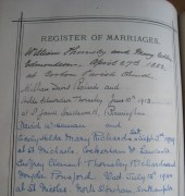 Register of Marriages
