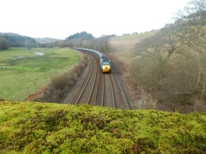 The London to Penzance train