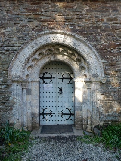 The beautiful doorway of St Anthony Church