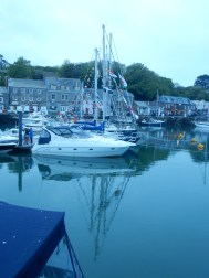 The harbour at dusk