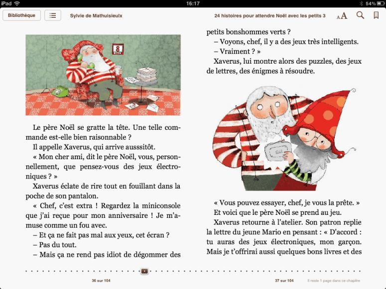 « 24 Histoires pour attendre Noël avec les petits » – Sylvie de Mathuisieulx – Fleurus éditions