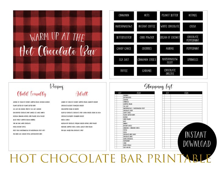 Hot Chocolate Bar Preview