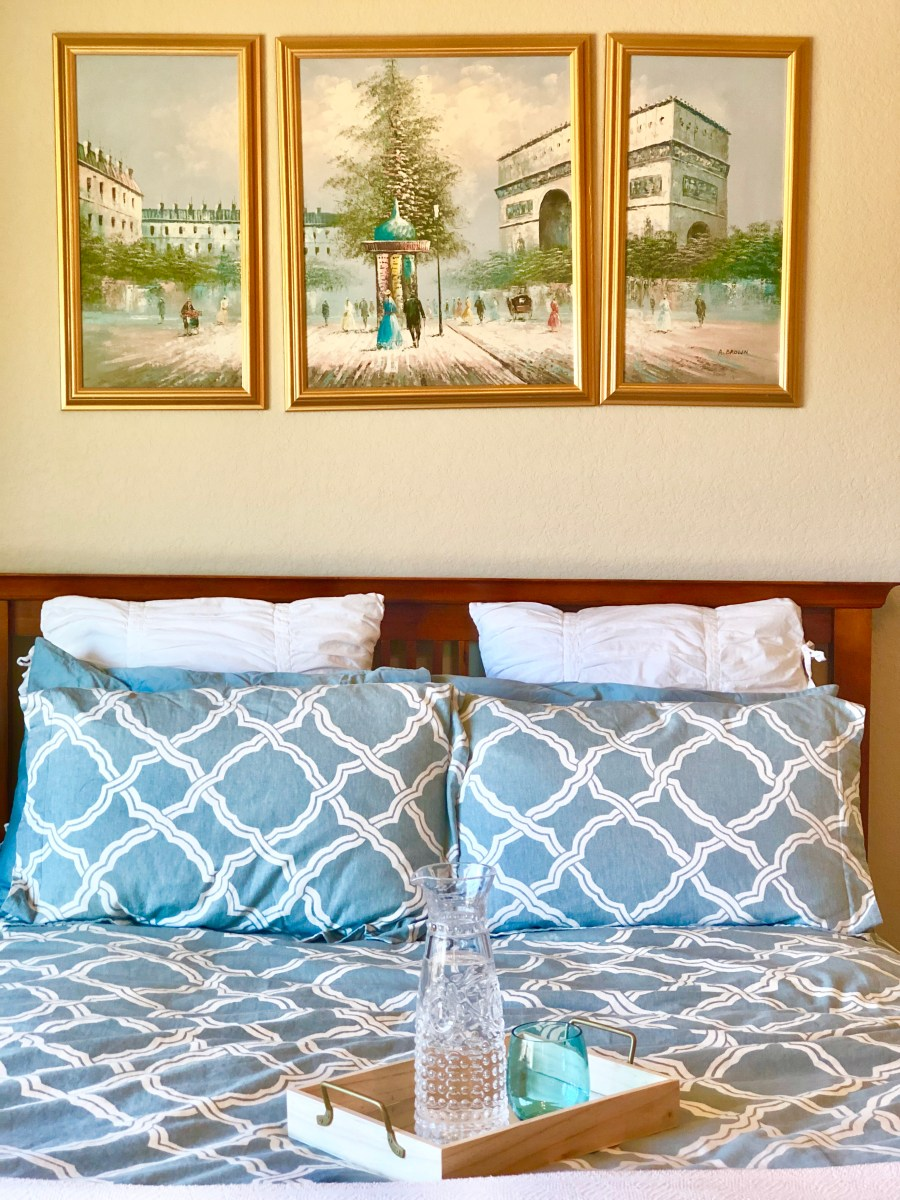 Create a guest room they won't want to leave