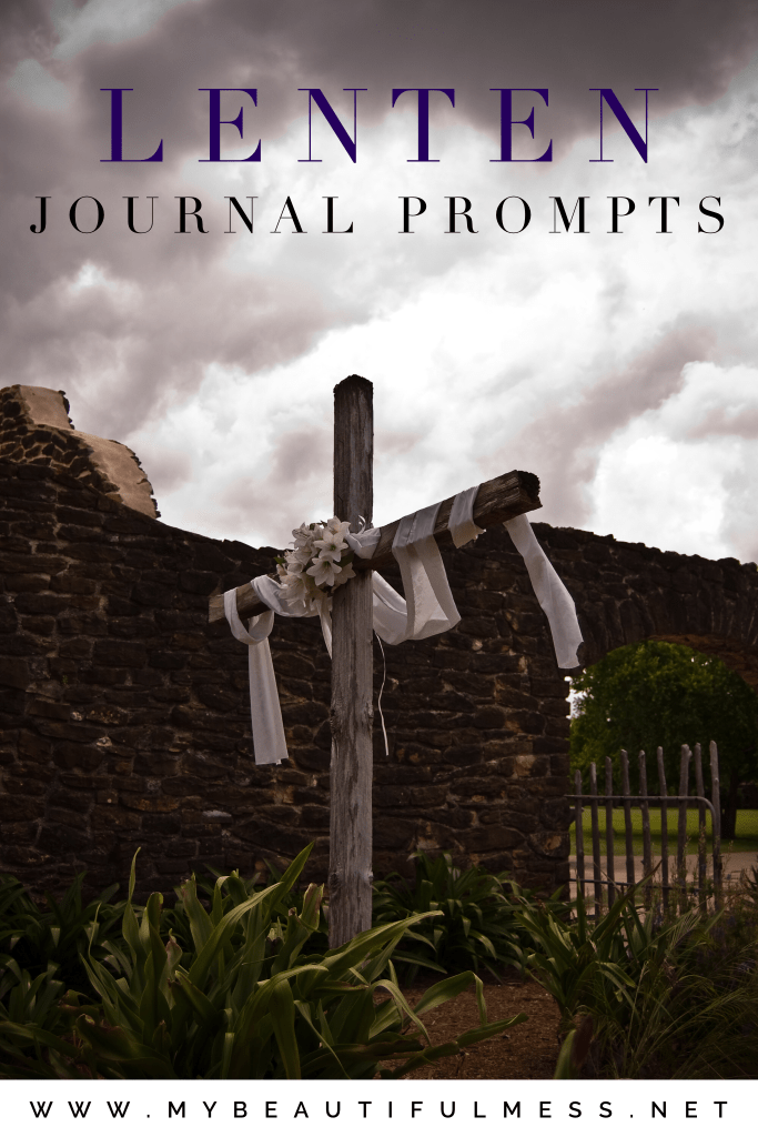 Lenten journal prompts