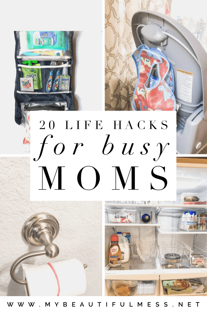 20 life hacks for busy moms