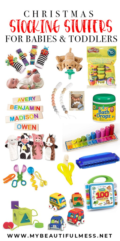 Stocking stuffers for babies & toddlers
