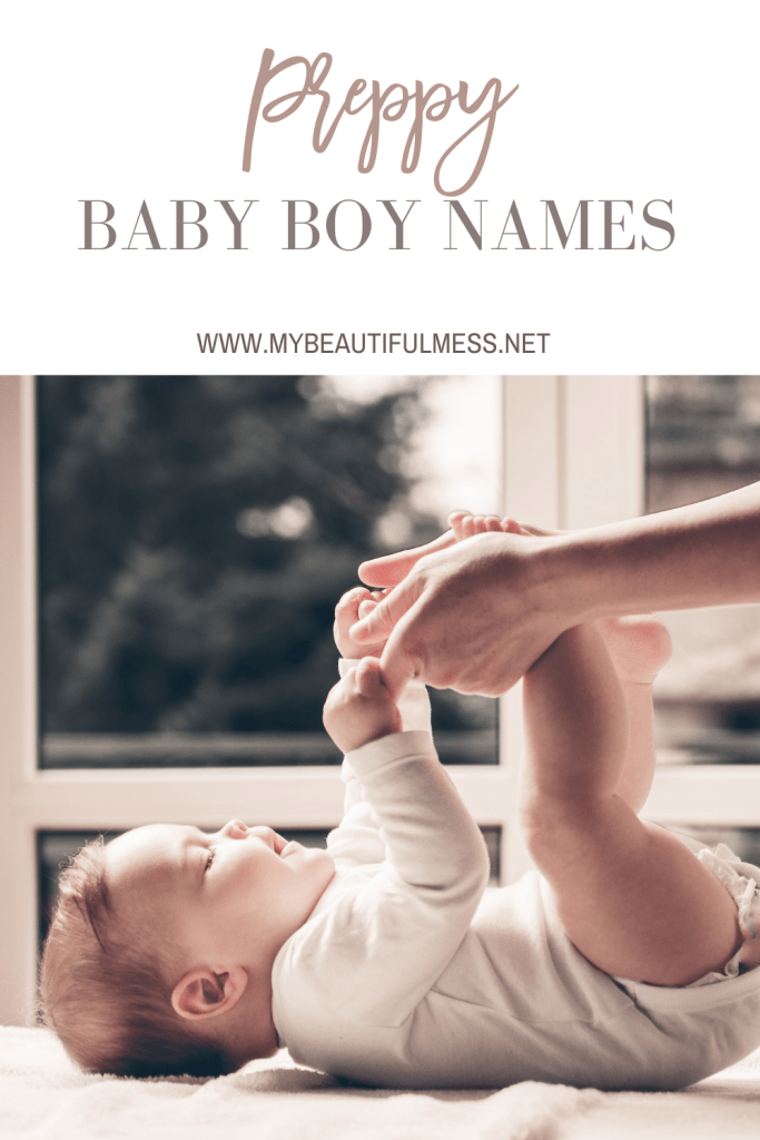 Preppy baby boy names