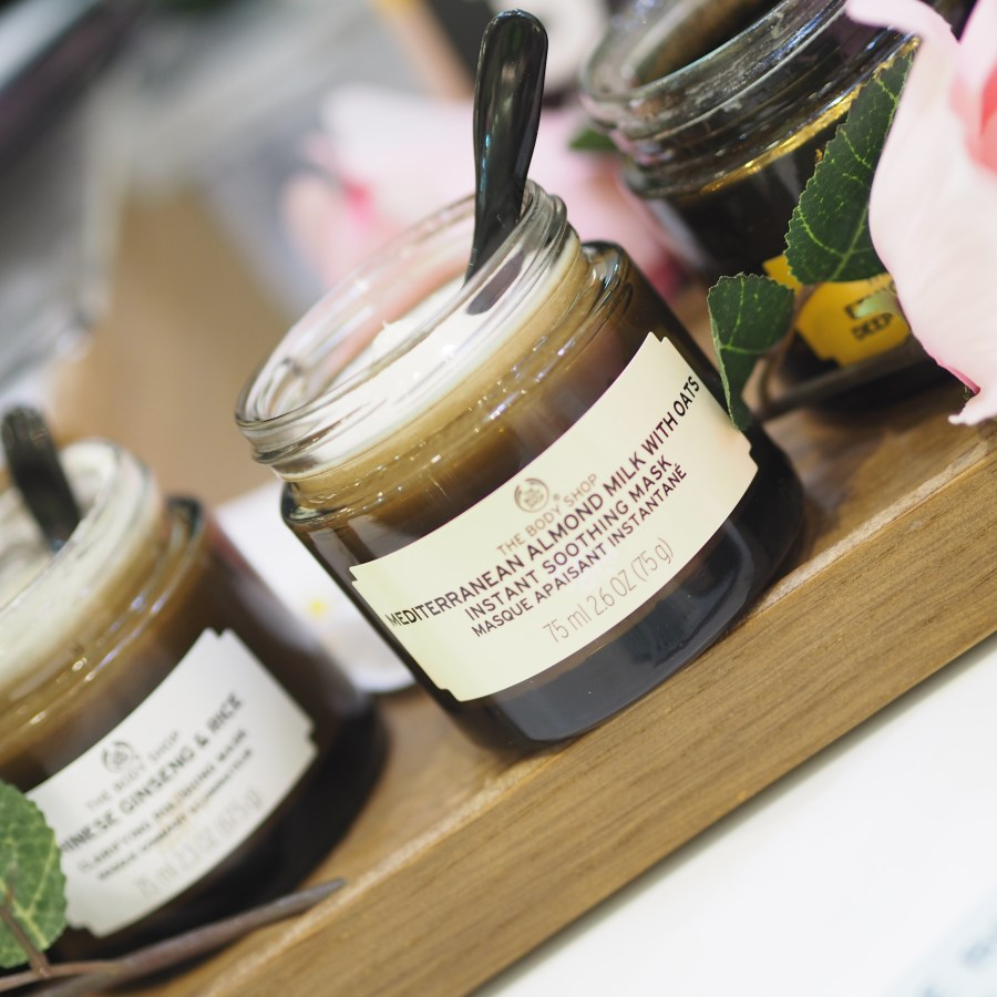 The Body Shop Mediterranean Almond Milk With Oats Face Mask