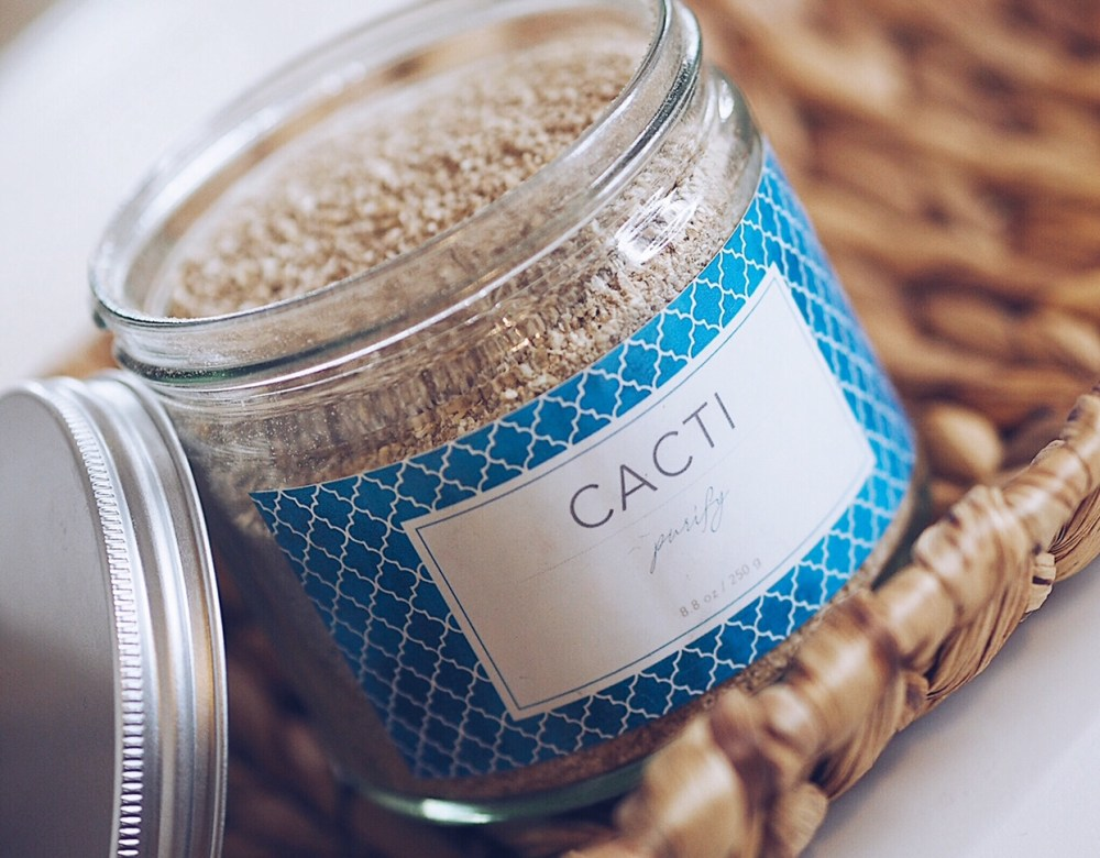 Cacti Cosmetics Purify Facial Exfoliator