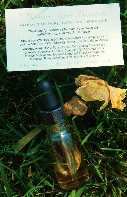 Mountain Rose Facial Oil
