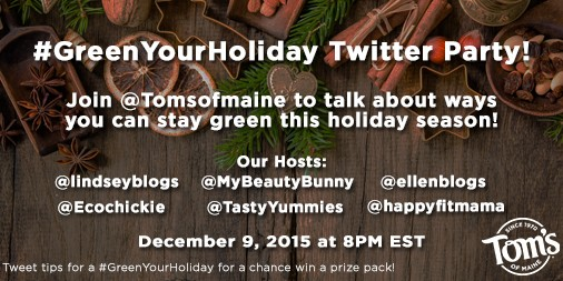 Toms of Maine Twitter Party