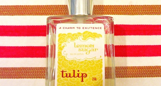 tulip perfume lemon sugar my beauty bunny